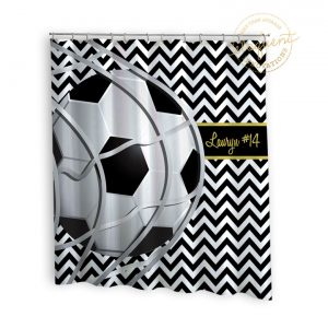 #260_SoccerTeam_Shower_Curtain