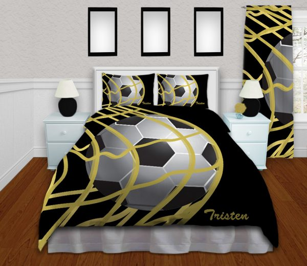 #265_SoccerBlack_Bedding