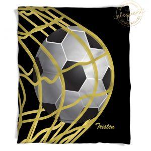 #265_SoccerBlack_Blanket