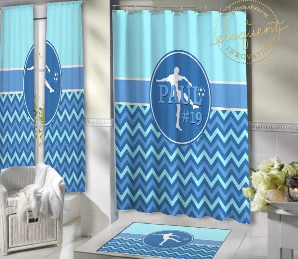 #420_Zig Zag_Shower_Curtain