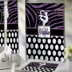 #423_Gymnastics_Shower_Curtain