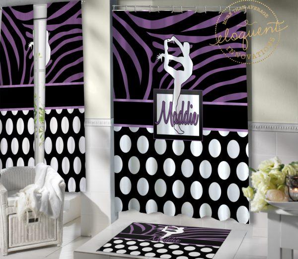 #423_Gymnastics_Shower_Curtain