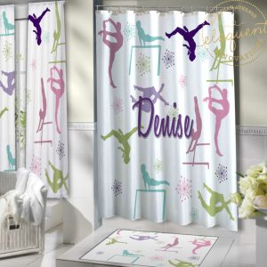 #425_Gymnastics_Shower_Curtains