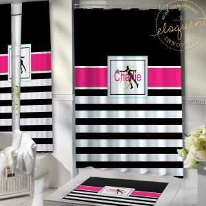 #428_Tennis Shower Curtain