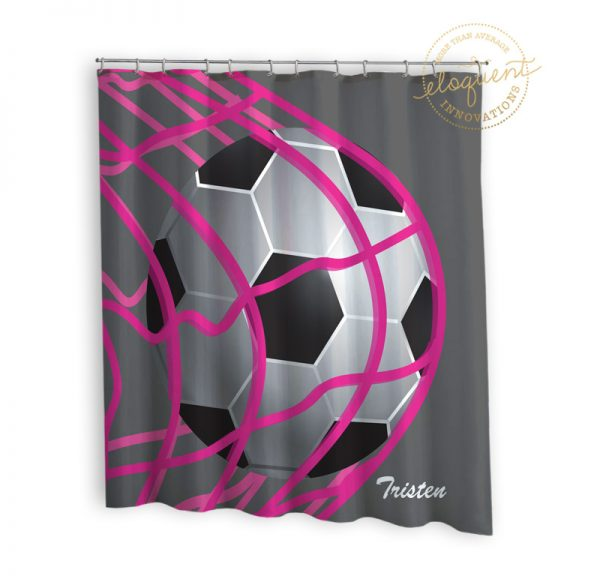 #268_Soccer_Shower_Curtain