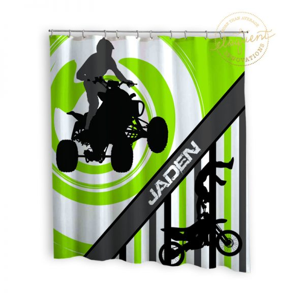 #271_Motocross_Shower_Curtain