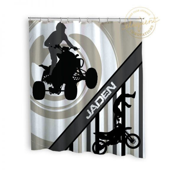 #273_Motocross_Shower_Curtain