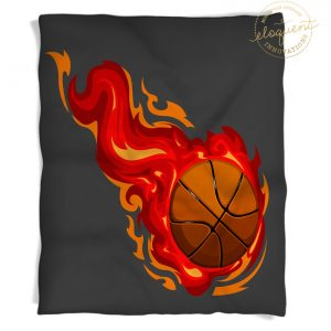 #278_BasketballRed_Blanket