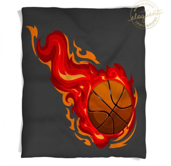 #278_BasketballRed_Blanket