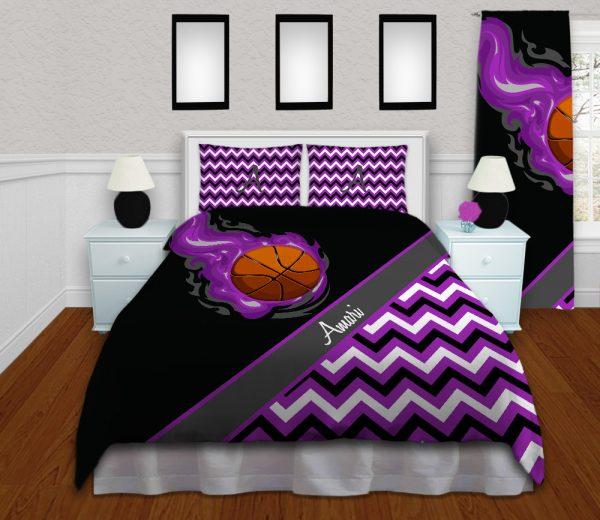 #280_BasketballChevron_Bedding_Set