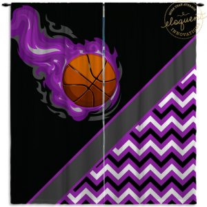 #280_BasketballChevron_Window_Curtains
