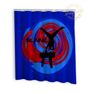 #281_GymnasticsBoy_Shower_Curtains