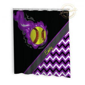 #283_Softball_Shower_Curtains