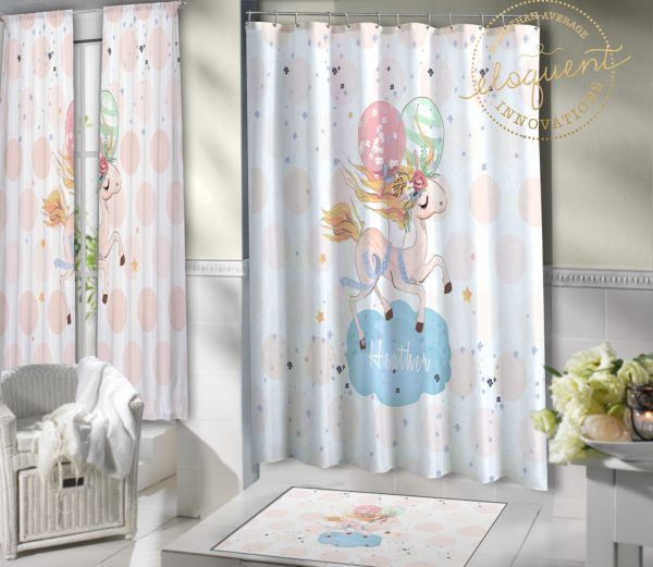 #422_Unicorn_Shower_Curtains