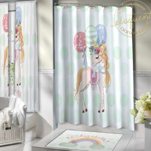 #426_Unicorn_Shower_Curtains
