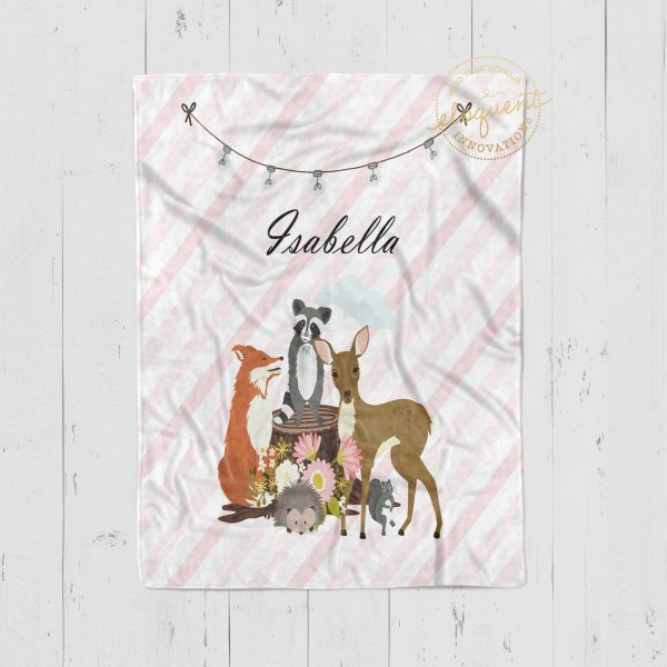 #429_Forest_Animal_Blanket