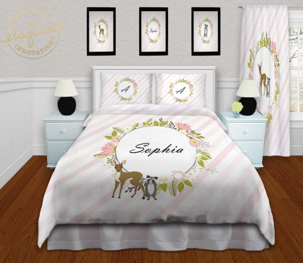 #431_Woodland Animals Bedding