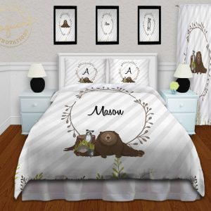#432_Woodland Animal Bedroom