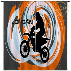 #408_DirtBike_Window Curtains