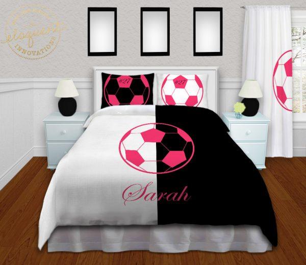 #418_Soccer Bedding