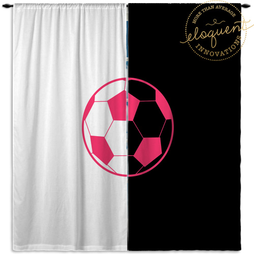#418_Soccer Window Curtains