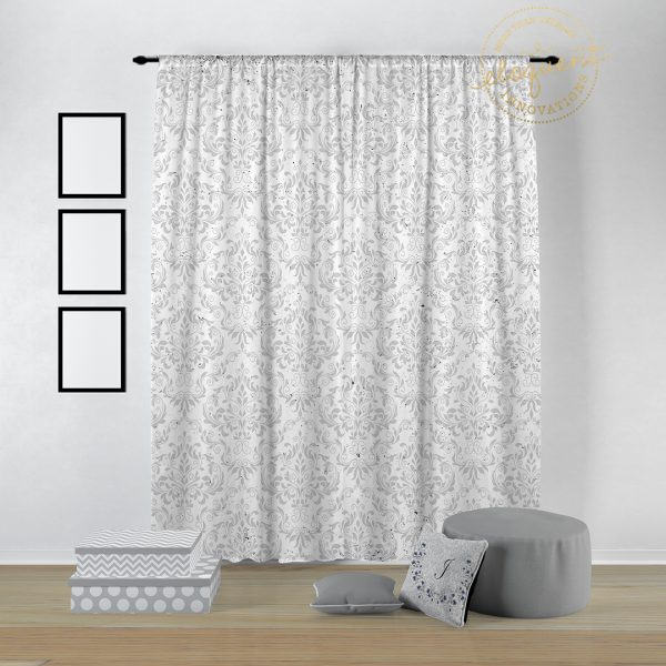 #369_Horse Window Curtains