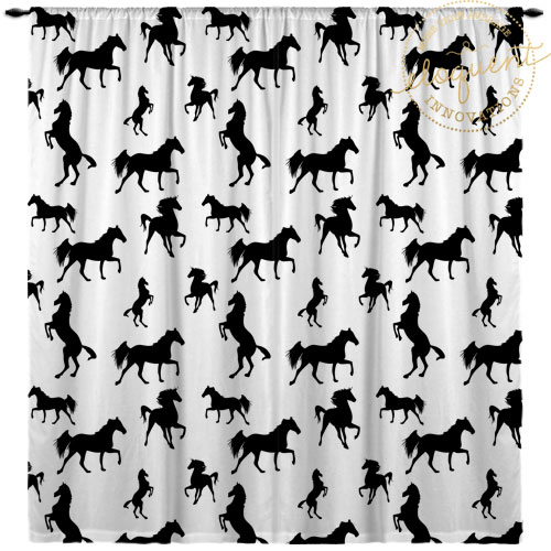 Horse Curtains