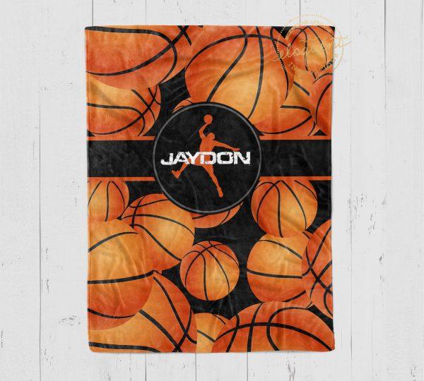 basketball blanket