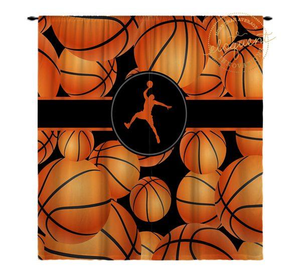 Basketball Window Treatments