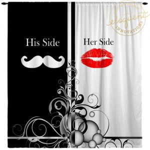 His and Hers Window Curtains
